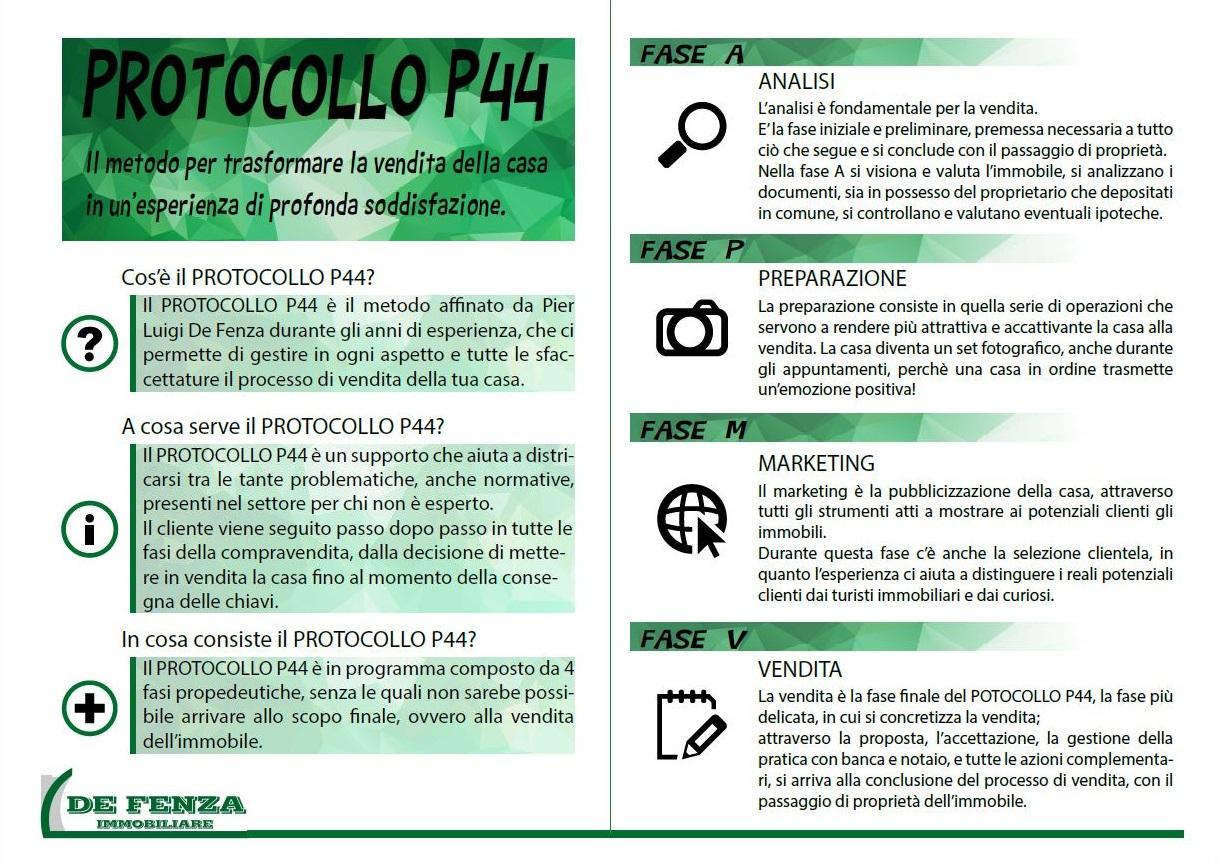 DE FENZA VALUTAZIONE protocollo p44